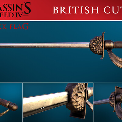 Jesse henning assassins creed black flag british cutlass edited