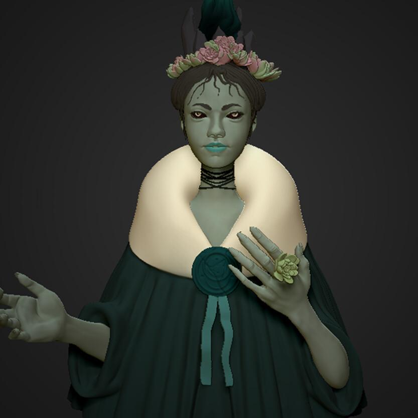 Persephone Sculpt