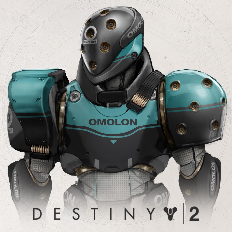 Destiny 2 - Future Facing Titan Set