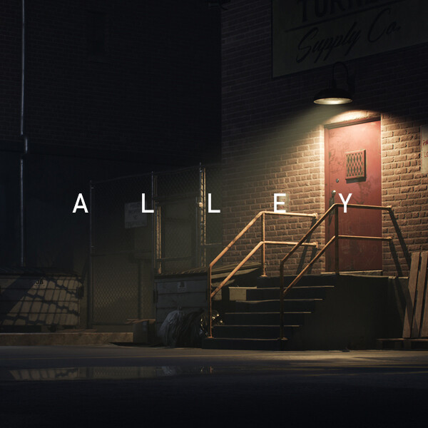 City Back Alley (UE4)