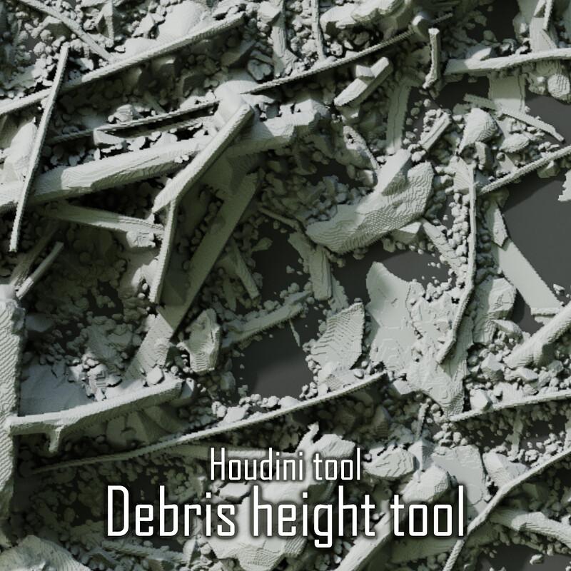 Houdini destruction tiler tool
