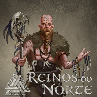 Leonardo santanna vikings bruxo capa