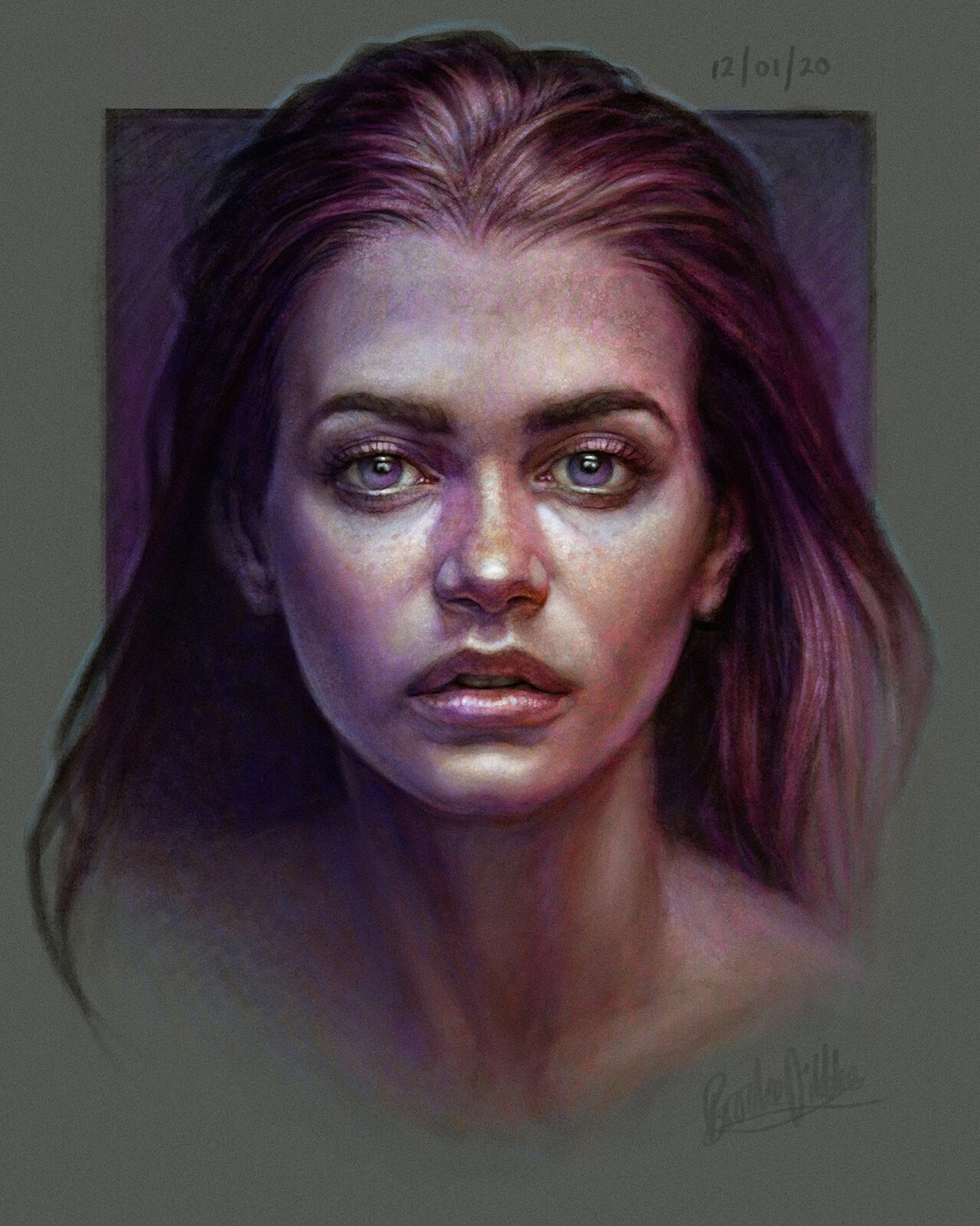 Portrait Study 12/01/20