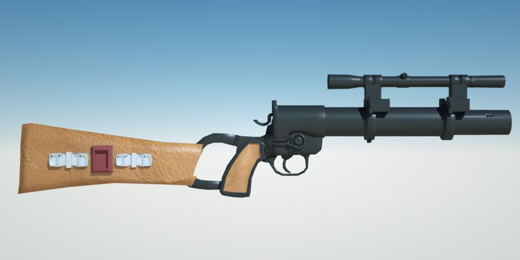 EE-3 Bobba Fett Blaster