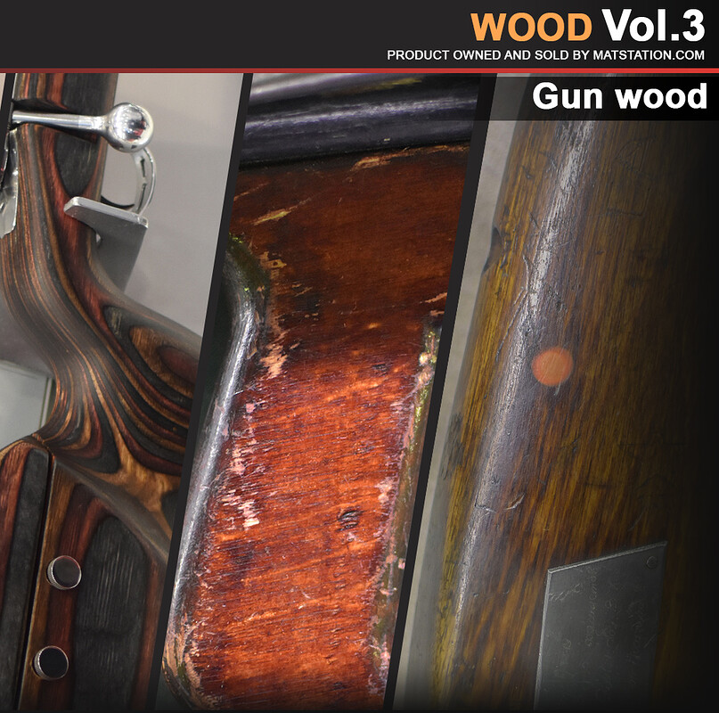 Photo Pack - Wood Reference - Vol.3