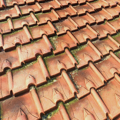 Norwegian Roof Tiles  -  Substance Designer Material