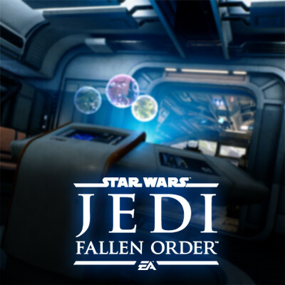 Holotable Holomap from STAR WARS Jedi: Fallen Order