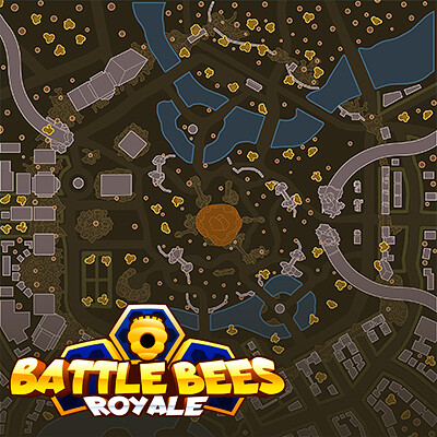 Battle Bees Drop Map