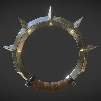Ring Blade - Fantasy Game Weapon