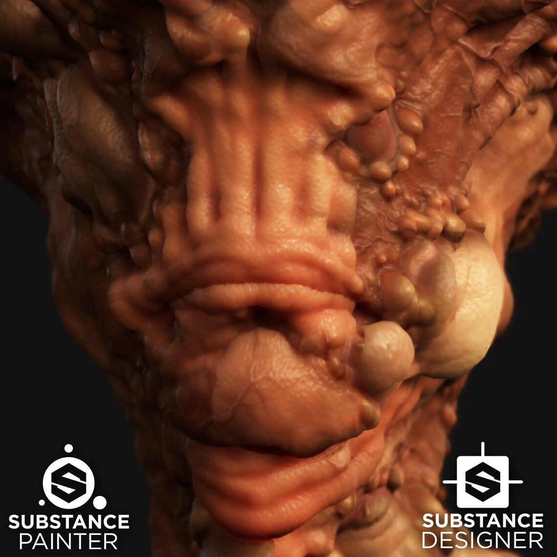 Skin Disfunction - WIP - Procedural Material
