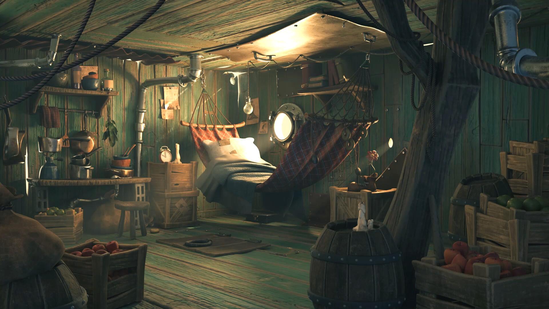 Popeye's Cabin