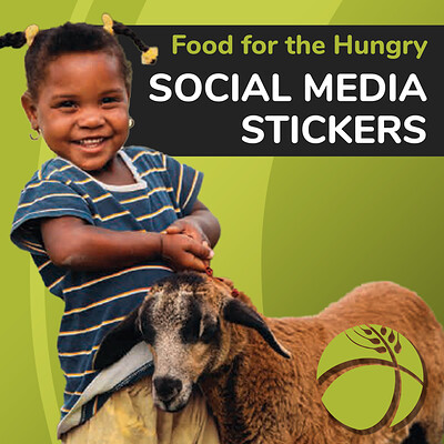 Sydney dennis thumbnail food for the hungry x media stickers 2