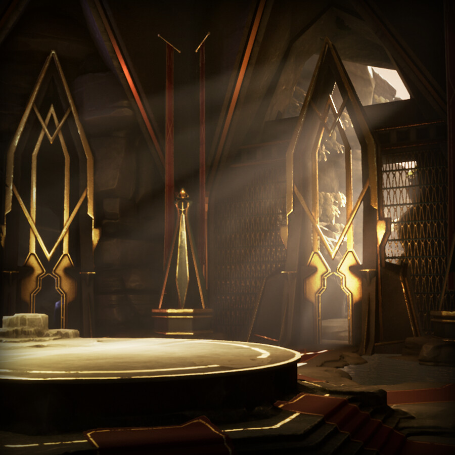 The round table stylized environment