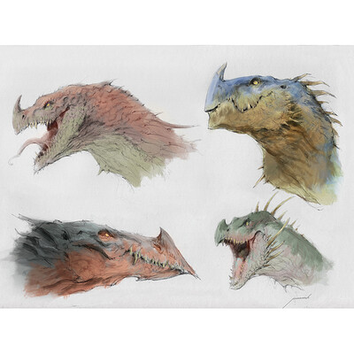 Antonio j manzanedo dragones color manzanedo margen