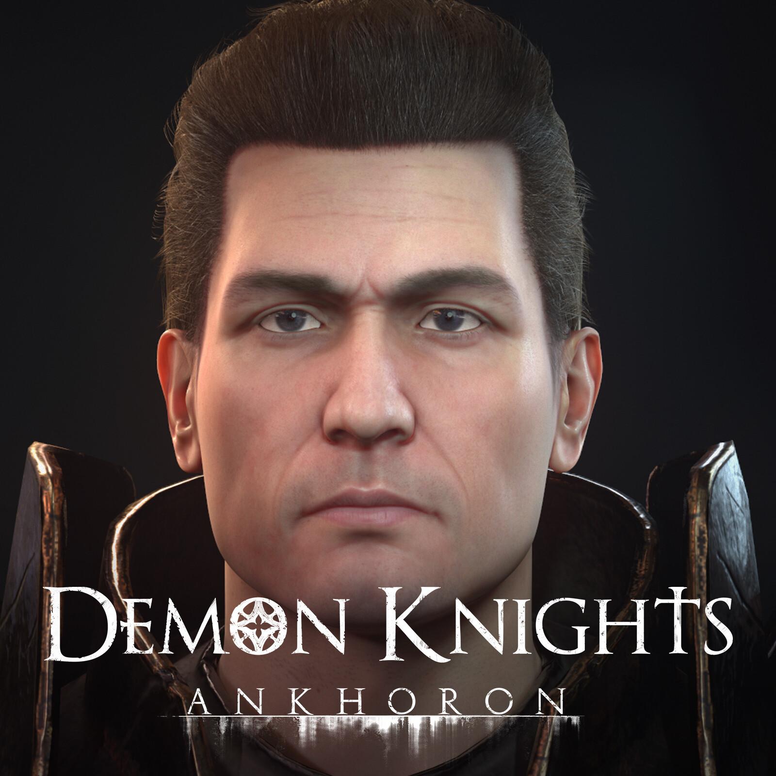 Hero Knight - Demon Knight of Ankhoron