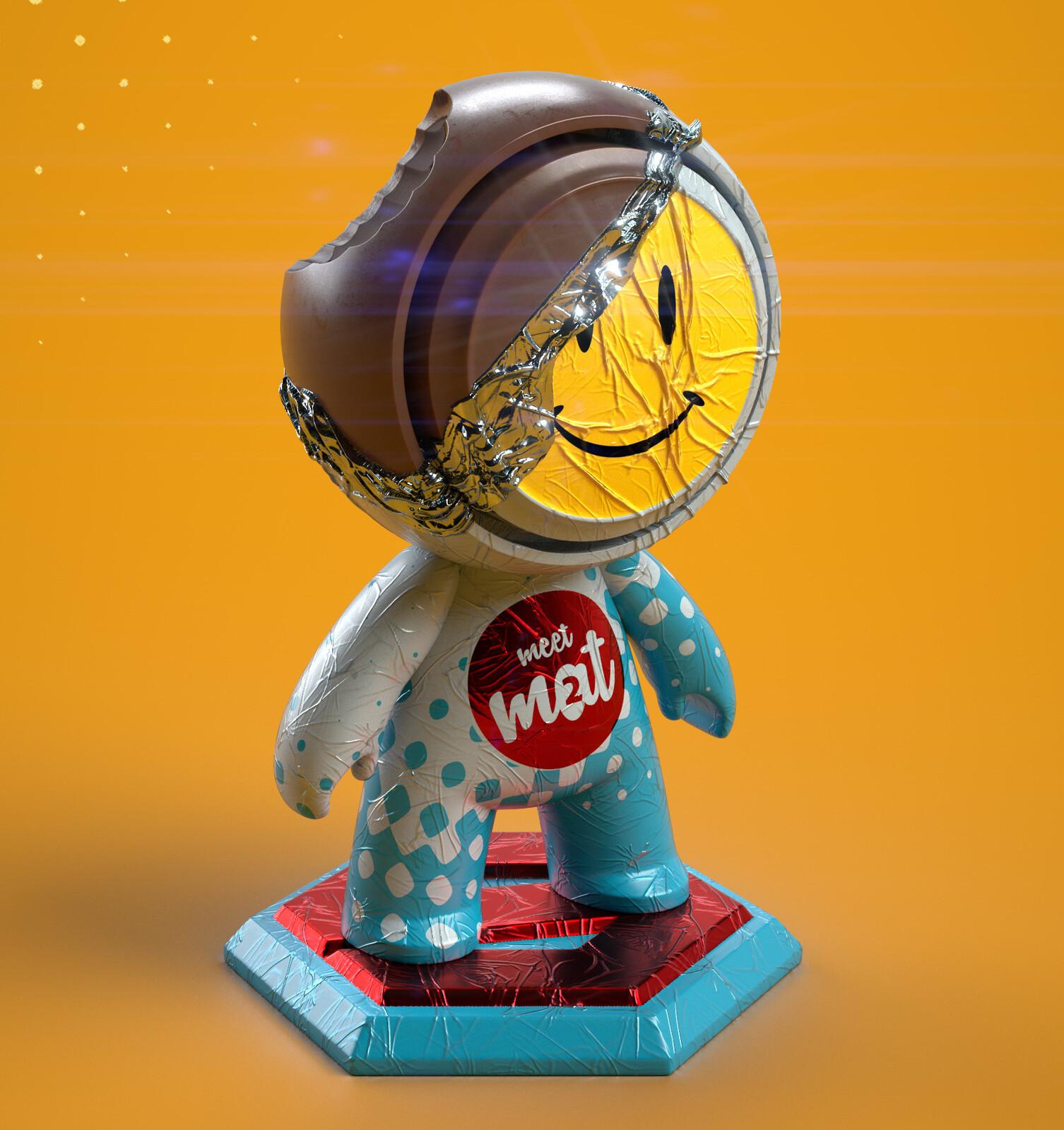 Meet Mat 2 - Choco Figure Mat
