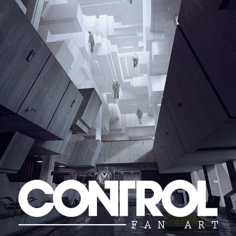 CONTROL Fan Art