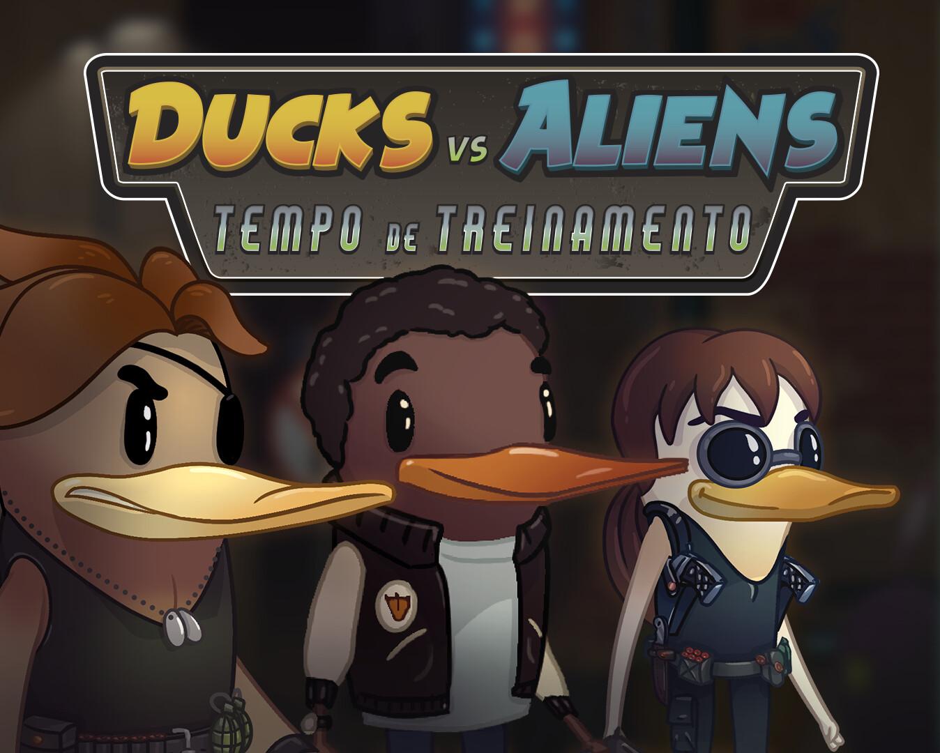 Ducks vs Aliens: Tempo de Treinamento | VISDEV