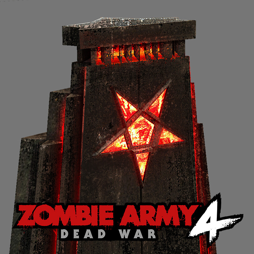 Zombie Army 4 - Throne Concept