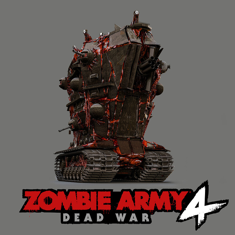 Zombie Army 4 - War Machine Concept