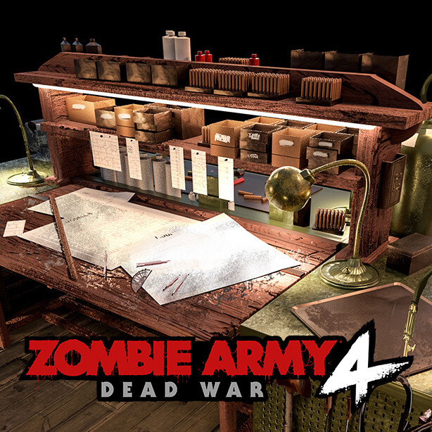 Zombie Army 4 - Workbench Concept