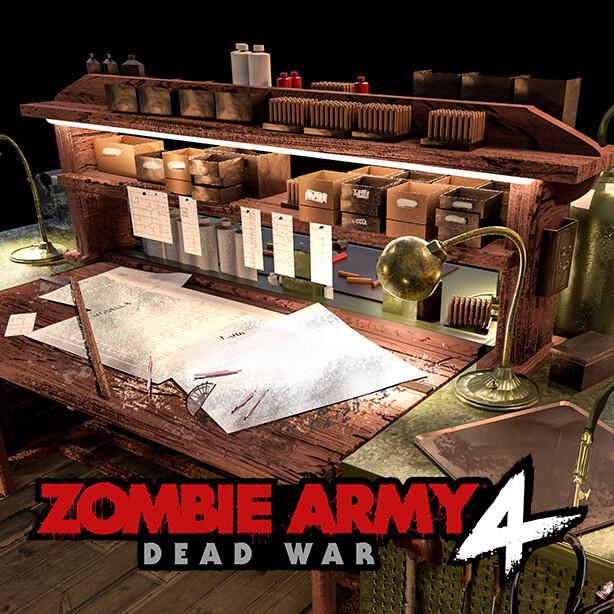 Zombie Army 4 - Workbench Concept