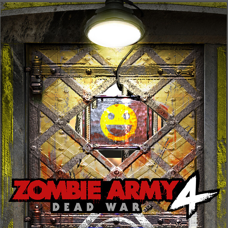 Zombie Army 4 - Safe Room Door Concept