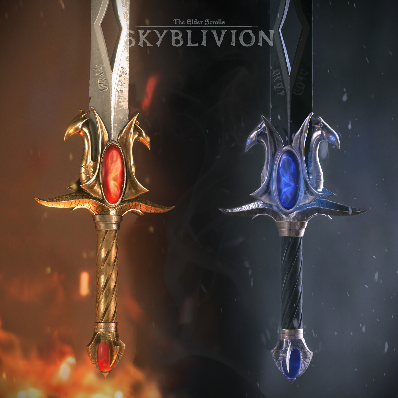 Dawnfang / Duskfang sword