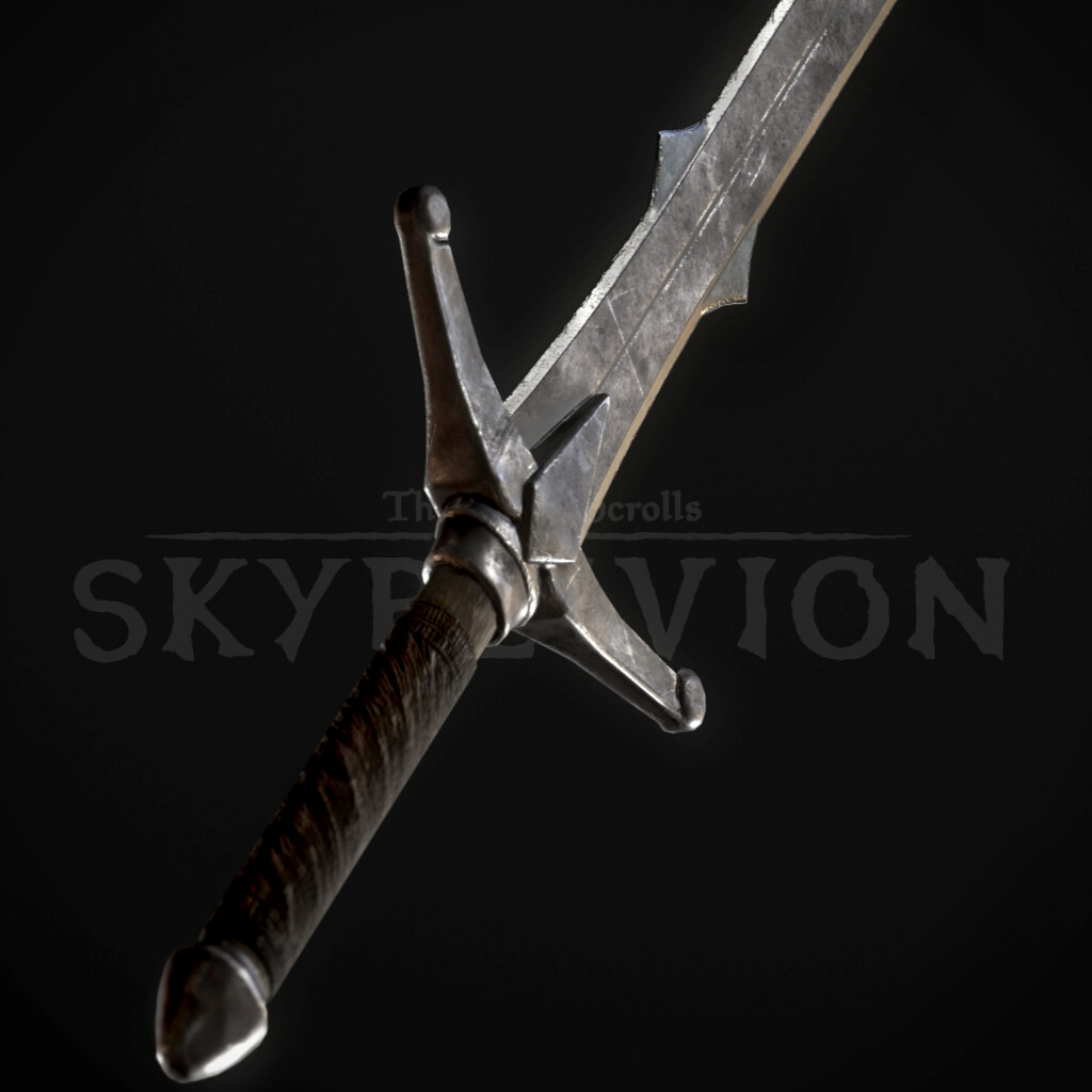 Iron Claymore, Iron Weapons Set (TES:Skyblivion)