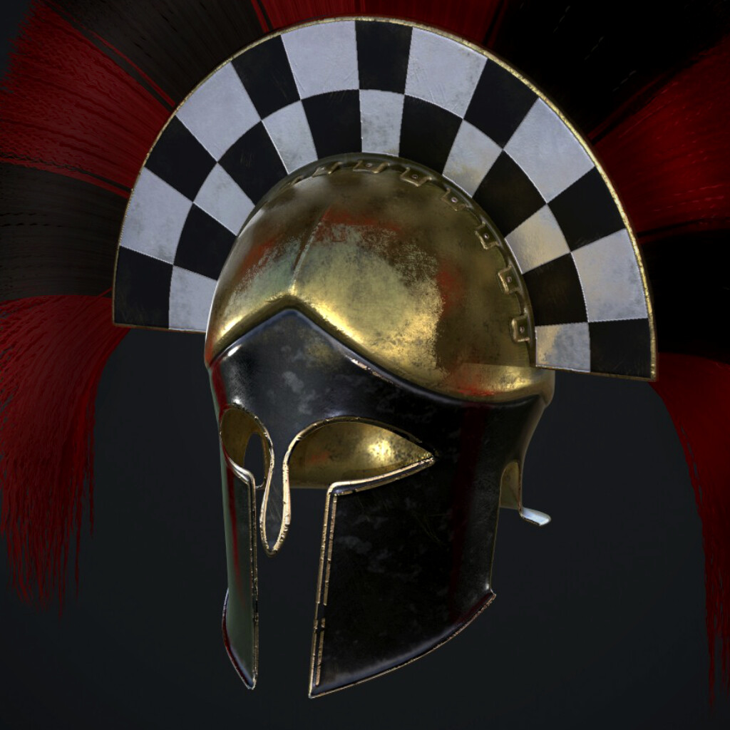 Greek Officer's Helmet (Spartan army)