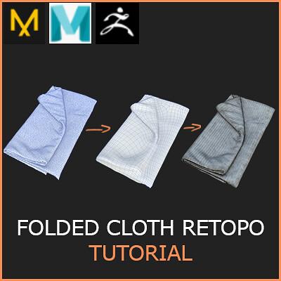 Fast Retopology of Folded Cloth Tutorial