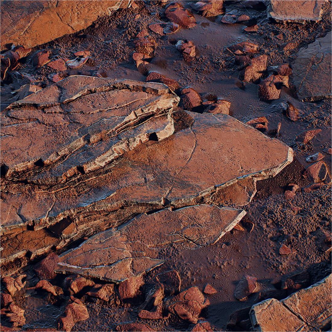 Martian-Inspired Rock & Soil Study