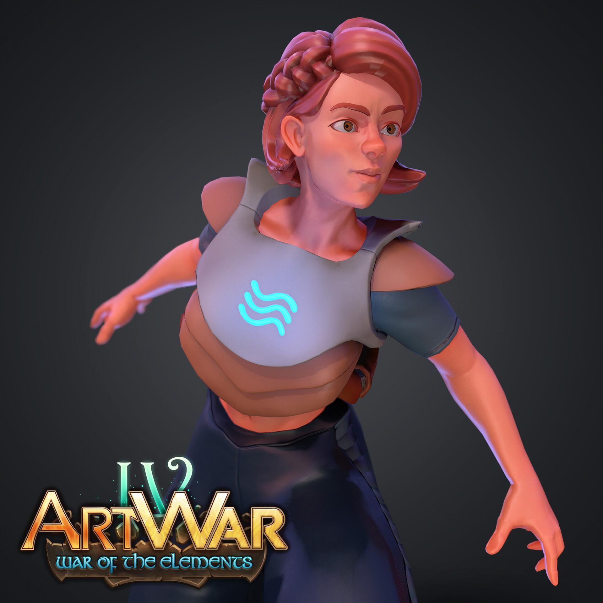Art War 4 - Water Guardian