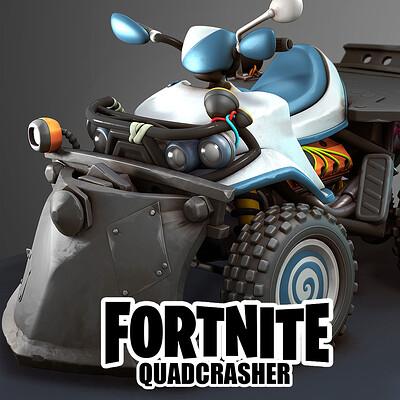 Mike kime quadcrasher artstation icon