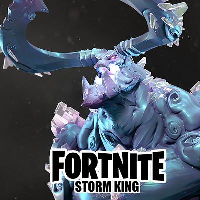Mike kime stormking artstation icon