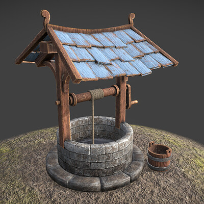 Abandoned Well - Game Ready Asset