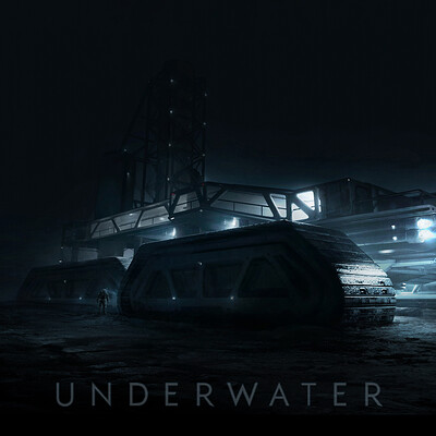 Underwater movie - Winch Shepard Early Concept Design (2016)