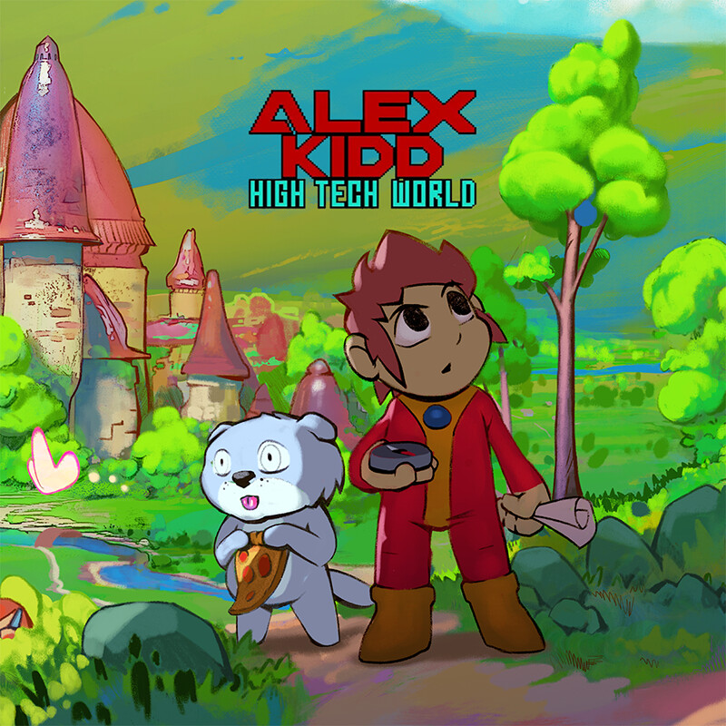 Alex Kidd in High Tech World Tribute