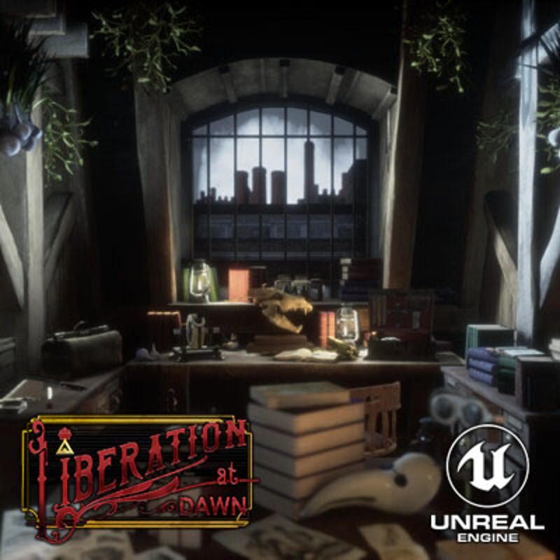 Liberation at Dawn - VR Environment