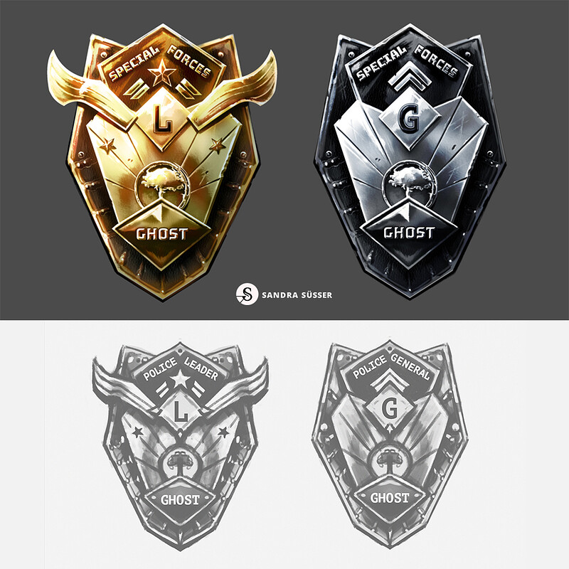 Human Punishment – Board Game Badge Designs
