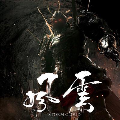 """STORM CLOUD"" teaser concept poster"