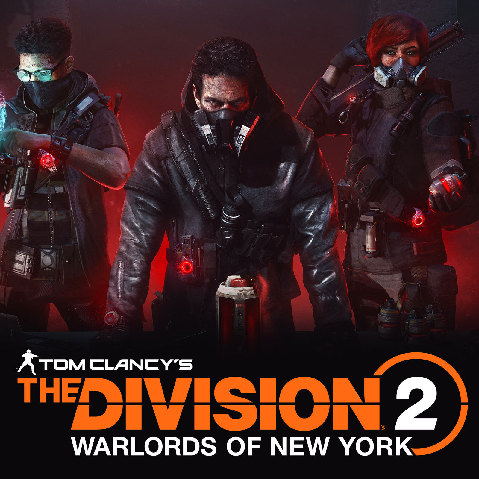 Aaron Keener X Rogue Agents (The Division 2 Warlords of Newyork)