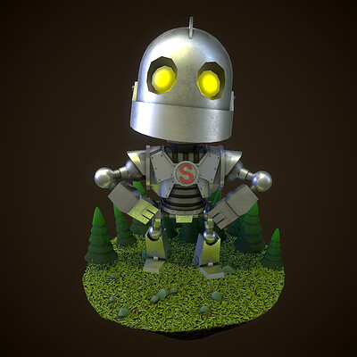 Iron Giant Animated