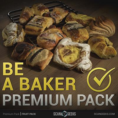 Scan geeks pastry premium pack