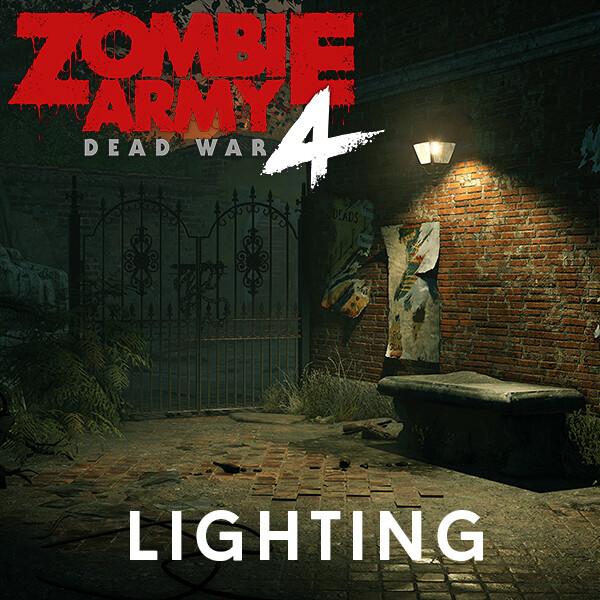 Zombie Army 4 - Lighting