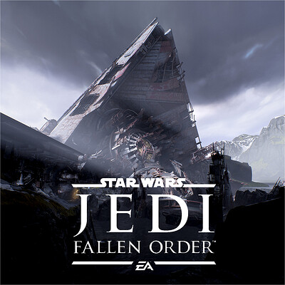 Star Wars - JEDI: Fallen Order | Zeffo Crashed Venator Level Shots