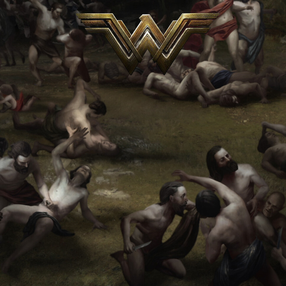 Wonder Woman Character textures