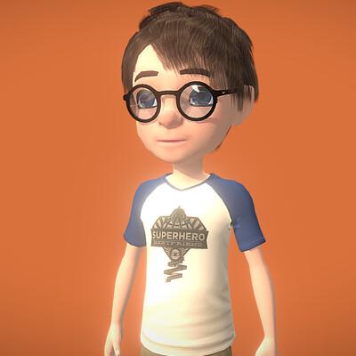Spuke 3d genious boy