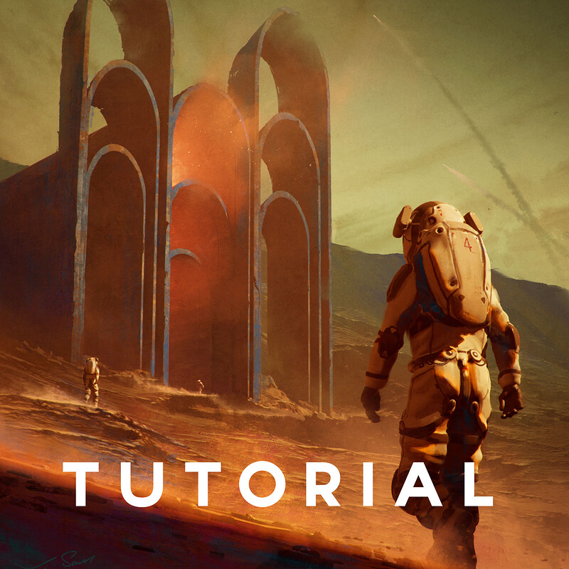 Concept Design and Key Art in Unreal Engine 4