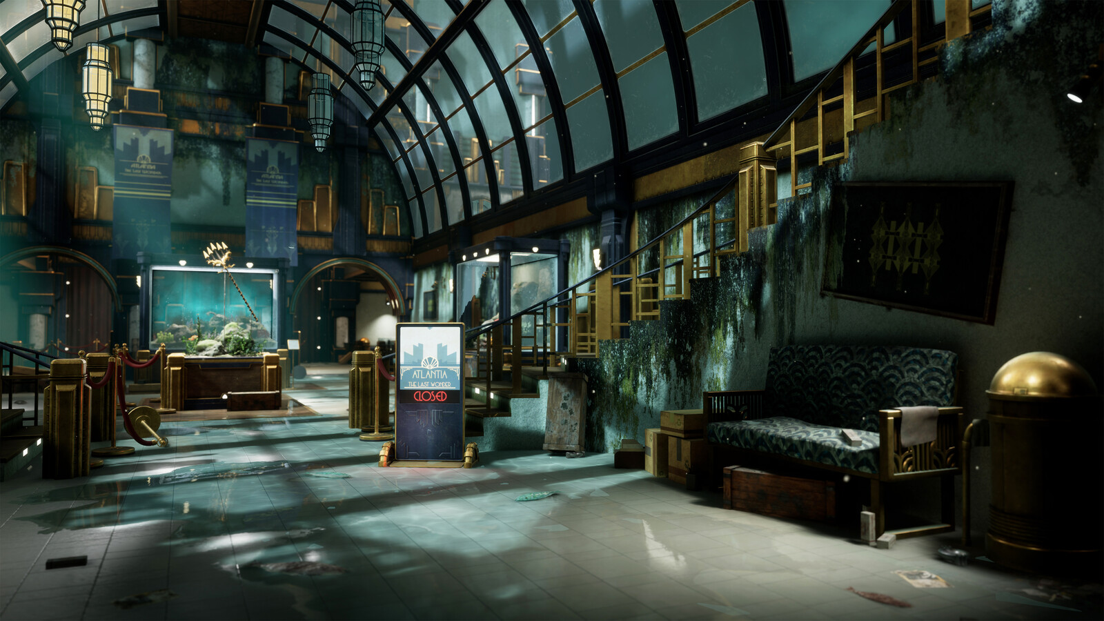 Atlantia: Museum Beneath the Sea (UE4)